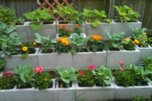 Block Flower and Plant Bed