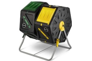 Miracle gro dual chamber compost tumbler