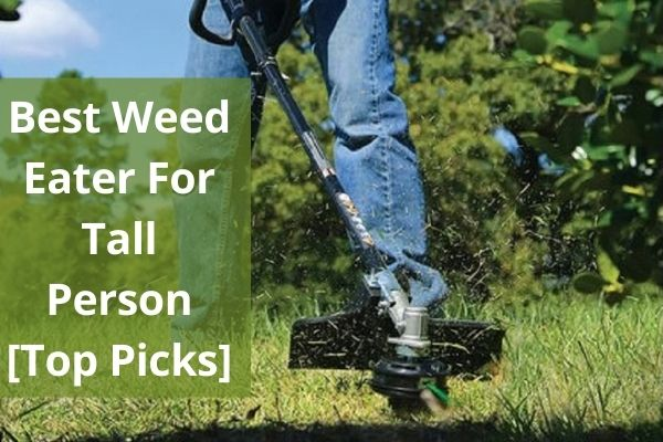Best weed eater for tall person