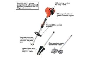 ECHO Gas PAS Trimmer and Edger Kit