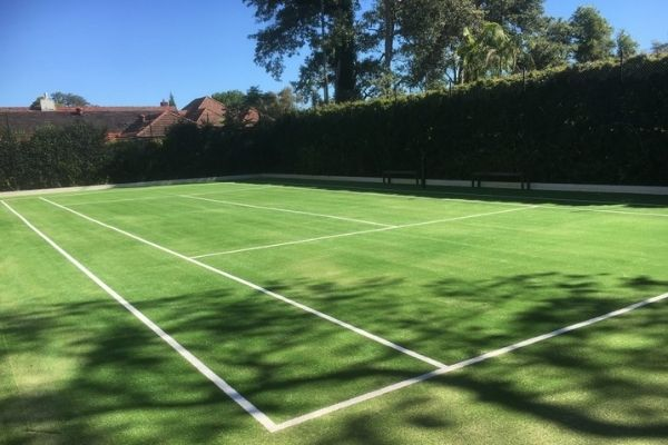 Can You Build a Tennis Court In Your Backyard
