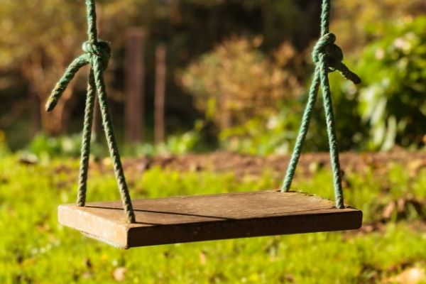 How To Hang a Tree Swing On An Angled Branch