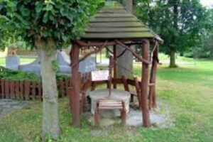 Is it safe to have a fire pit under a gazebo