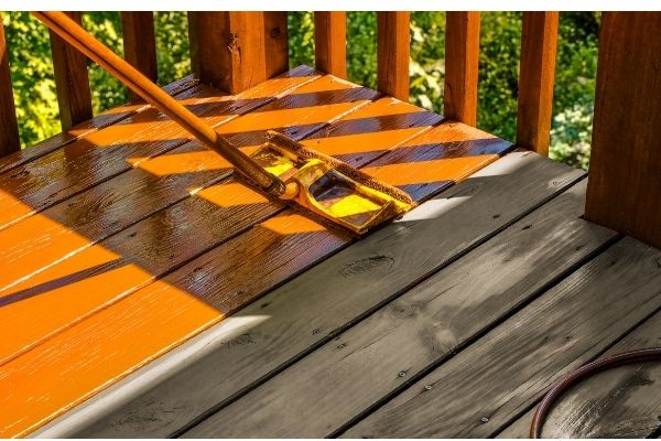 What Happens if It Rains After You Stain Your Deck